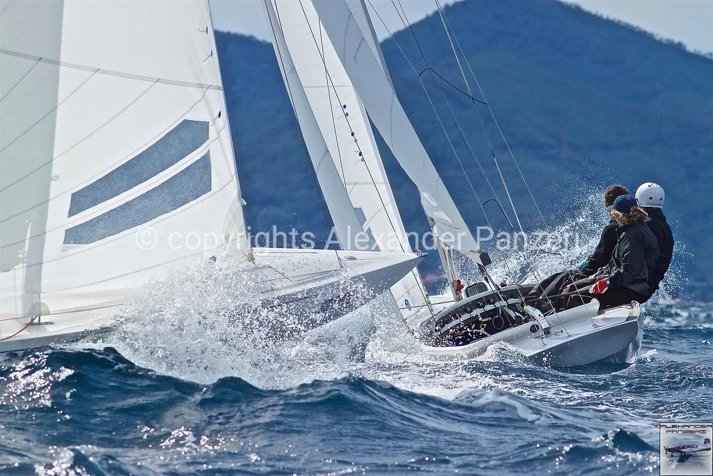 Dragons action upwind race 2 copyright © photo Alexander Panzeri