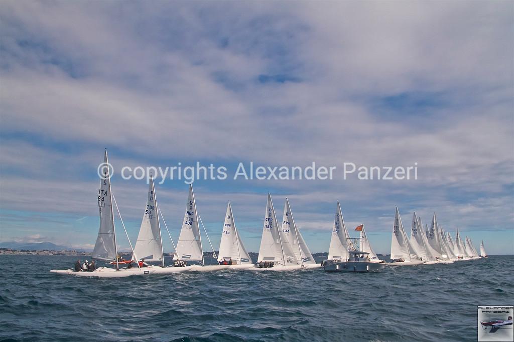 Dragons start line. copyright © photo Alexander Panzeri