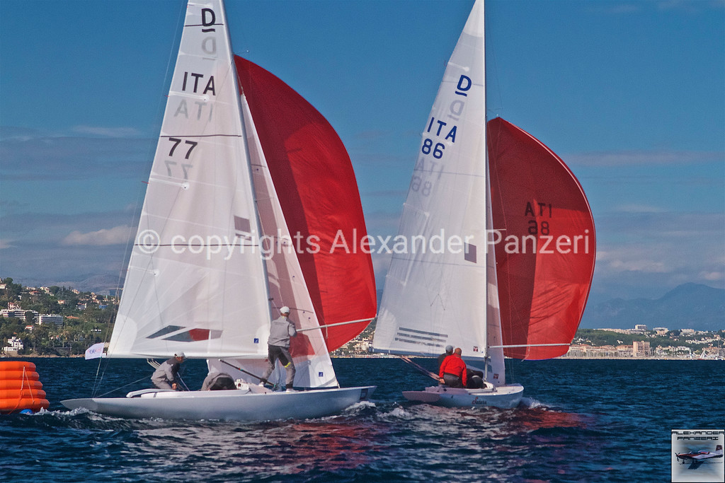 Italian teams are dominating the last race of dragons. copyright © photo Alexander Panzeri