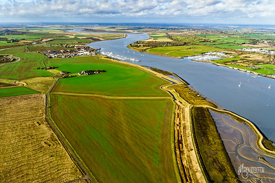 Wallasea Island showing Essex Marina & Burnham Yacht Harbour