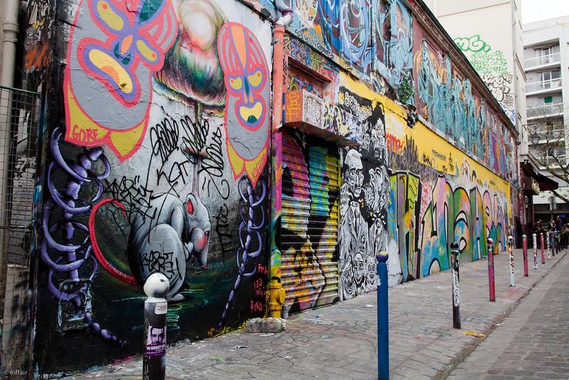 Rue Denoyez - Paris XX