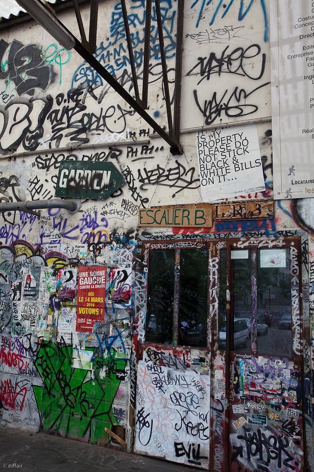 Rue des Frigos Paris XIII