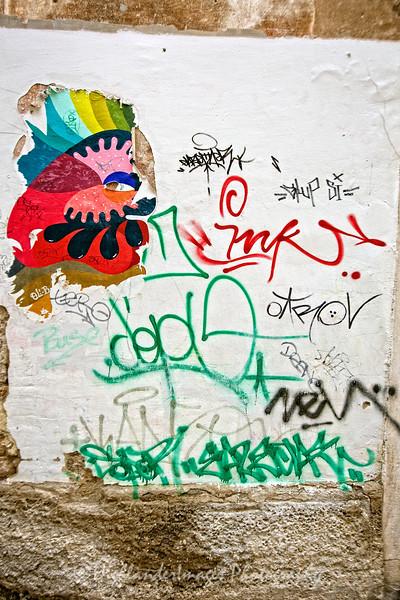 Graffiti, Split, Croatia