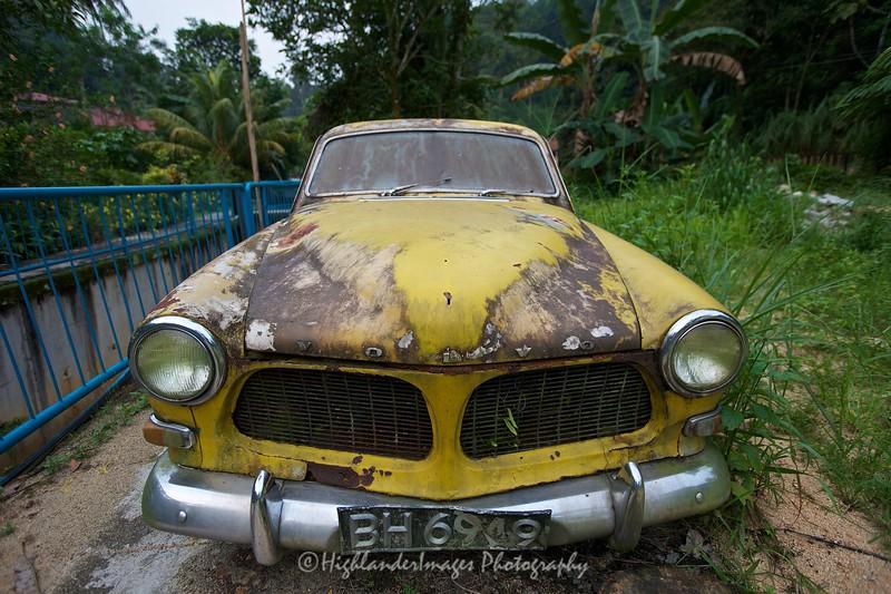 Old Volvo, Kampung Sungai Penchala, KL