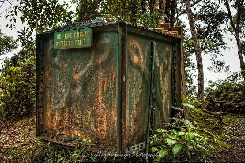 Water Tank, Mount Kinabalu