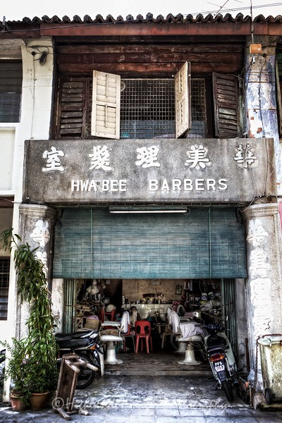 Barber Shop, George Town, Penang