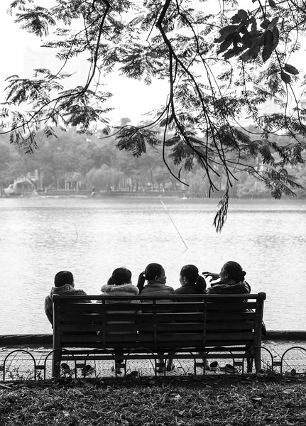 Sunday in the Park...Hoan Kiem Lake