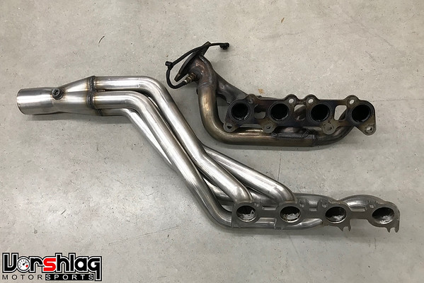 ARH Ford 2015-19 Mustang 5 0L Long Tube Headers with X-Pipe