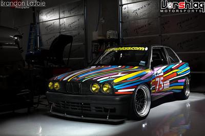 "Vorshlag E30 V8 ""GRM Challenge"" Build"