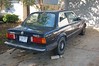 Here's the little E30, the day we picked it up.