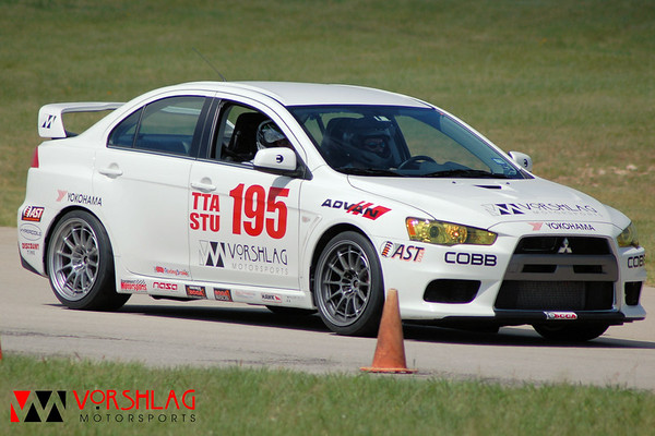 Brian driving at MSR on the 1.3 mile course