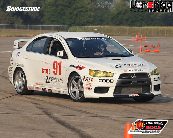 Amy Fair at the 2009 SCCA Solo Nationals