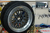 "CCW 3-piece 18x10"" wheel and Yokohama ADVAN AD08 tire in 245/40/18 is 47.5 pounds"
