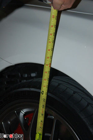 "Stock front ride height on the MR is 15-5/8"". Way too tall!"