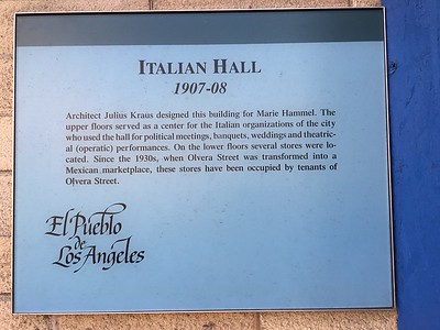Italian Hall 1907-08