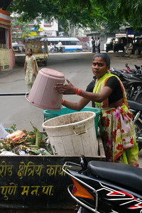 Door to Door Waste Collection  Photo by Julian Luckham