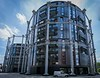 Appartments in a gasometer