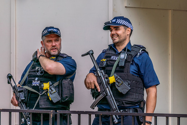 @Westminster 2019.09.04 Police Guarding Palace