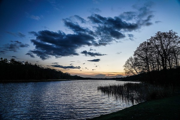 Little Ormesby Broad in the blue hour