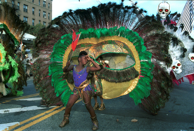 West Indian Parade, Brooklyn, NY.<br /> Labor Day. <br /> <br />  © Laura Razzano