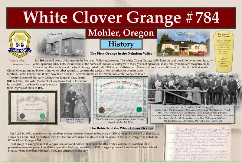 White Clover Grange WALL TOP