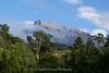 East Ridge of Mount Kinabalu from Mount Kinabalu Golf Course, Pinosuk Plateau, Kundasang, Sabah