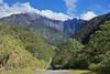 East Ridge of Mount Kinabalu from road to Mesilau Gate
