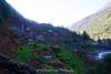 Beautiful rural view between Phakding and Lukla.