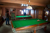 Pool is a popular game here in Lukla.