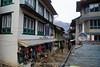 Main street in Lukla.