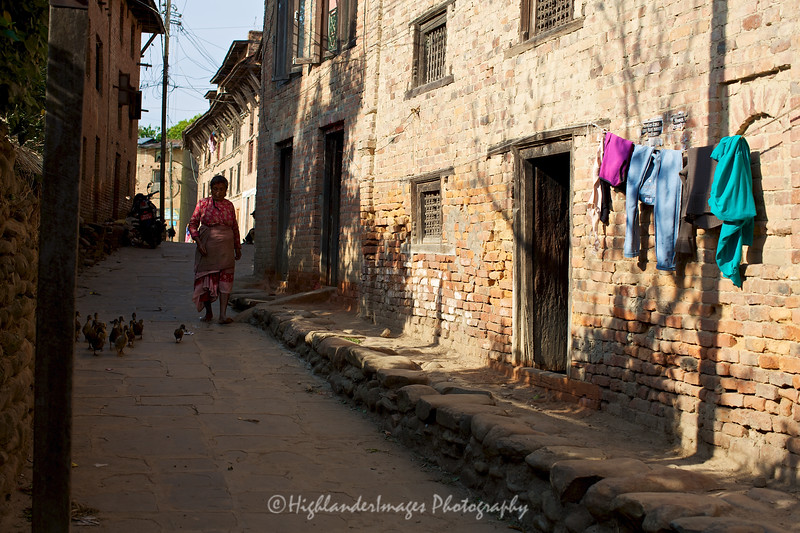 Streets of Bungamati.