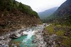 Another river crossing between Phakding and Monjo.