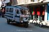 Local transport in Kathmandu close to Durbar Square.