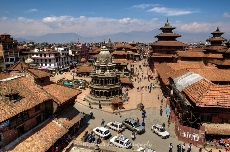 Durbar Square is the generic name used to describe plazas opposite old royal palaces in Nepal. Before the Unification of Nepal, Nepal consisted of small kingdoms, and Durbar Squares are most prominent remnants of those old kingdoms in Nepal. In particular, three Durbar Squares in the Kathmandu Valley, belonging to the three kingdoms situated there before unification, are most famous: Kathmandu Durbar Square, Patan Durbar Square, and Bhaktapur Durbar Square. All three are UNESCO World Heritage Sites.