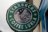Starbucks Coffee, Lukla. Note the altered logo with a large mountain instead of the girl's head in the genuine logo.