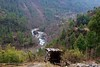 A toilet with a magnificent view between Lukla and Phakding