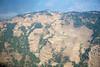 Terraced hillslopes between Lukal and Kathmandu.