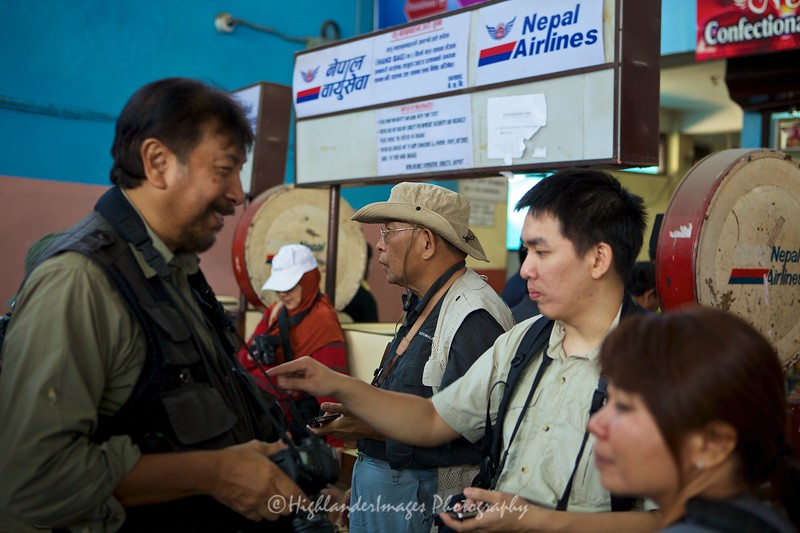 Check in at Kathmandu domestic airport for flight to Lukla