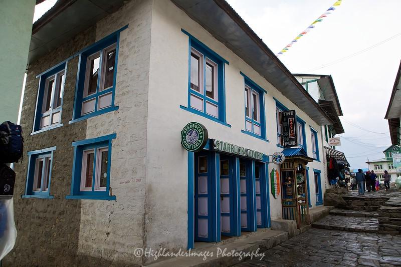 Starbucks Coffee, Lukla, Nepal