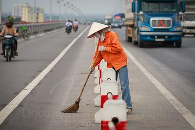 Quét cầu Thanh Trì