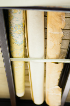 Charts stored on the MV Lotus