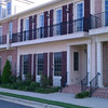 The Woodside Village townhomes by Allison Ramsey Architects built in Aiken, SC.
