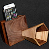 iPhone/Smart Phone natural acoustic passive speaker.