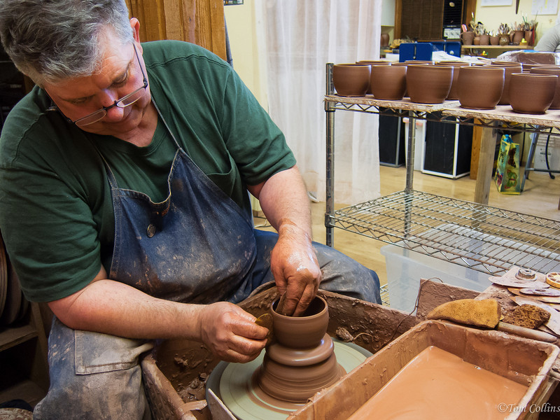 Darby Huffman, Master Potter