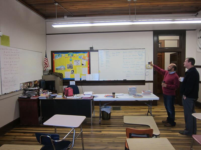 1st Floor Classroom#3 in Tallapoosa Classroom Building