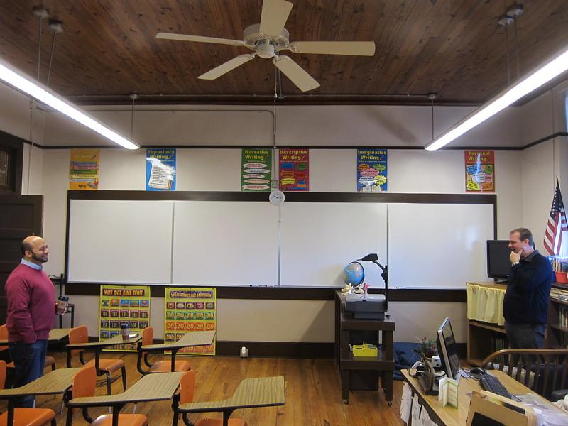 1st Floor Classroom#2 (6th & 7th grade) in Tallapoosa Classroom Building
