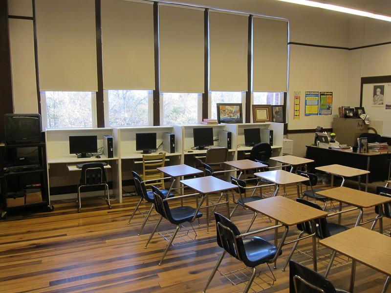 2nd Floor Classroom#7 in Tallapoosa Classroom Building