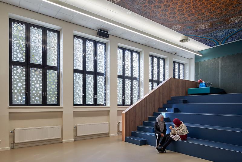 Avicenna college Rotterdam. Jos Hermans. RoosRos architecten