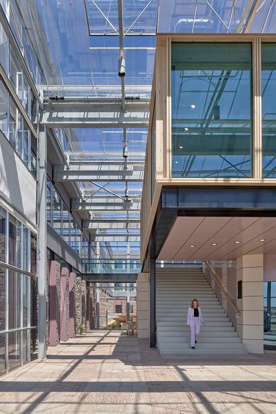 Biopartner 5 Leiden. Popma Tersteege architecten.