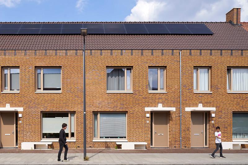 "Sociale woningbouw De Orthen"" Den Bosch. Hilberink Bosch architecten."